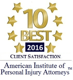 American Institute of Personal Injury Attorneys - 2016